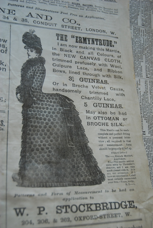 "From ""The Queen, The Lady's Newspaper"" dated June 27, 1885"